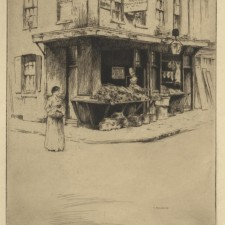 22 The Shop on the Corner, Clare Market 1910