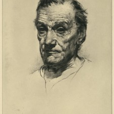 50 Head Study No. 4 (An Old Man) 1912