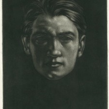 65 Head Study (Portrait of the Artist) 1913