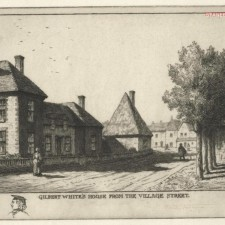 86 Gilbert White's House, from the Village Street 1915