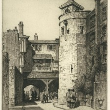 117 Bell Tower, Tower of London 1920