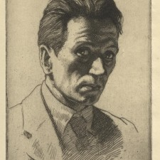 122 Portrait of the Artist  1920