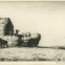 134 Stacking Oats, Sussex 1922