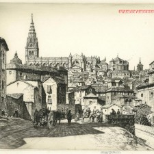 181 Toledo Cathedral 1928