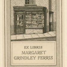 230 Bookplate: Margaret Grindley Ferris 1941