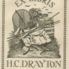 237 Bookplate: H C Drayton 1943